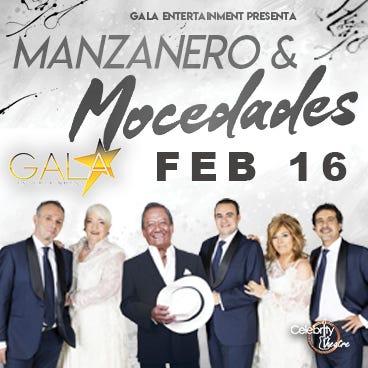 Armando Manzanero y Mocedades, prometen una noche llena de amor y romanticismo.