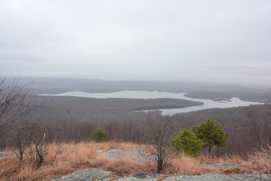 This view awaits hikers as a reward on the Wyanokie High Point Loop.
