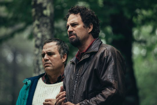 "Mark Ruffalo portraying twin brothers Dominick and Thomas Birdsey in HBO's ""I Know This Much is True."""