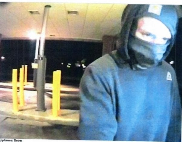 Do you recognize the suspect involved in vehicle thefts in Dover Township?