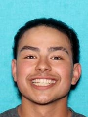 A mugshot photo of Giovanni Gonzales-Mariscal, 18, of Sun Valley, who has been identified as a suspect in a deadly shooting at Lazy 5 Regional Park.