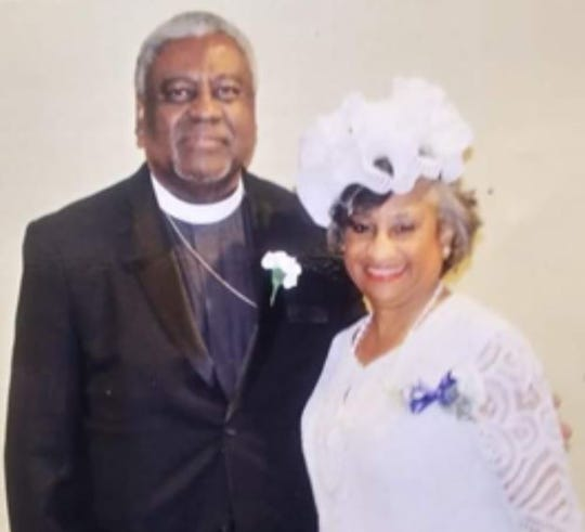 The Rev. Dr. Julius C. Clay pictured with his wife Dr. Denise Clay.