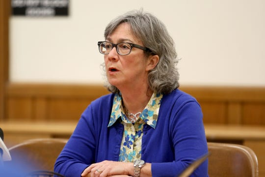 Barbara Smith Warner, D-Portland, the House Majority Leader, speaks during the AP Legislative Preview Day at the Oregon State Capitol in Salem on Jan. 17, 2020.