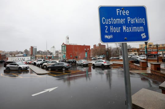 The parking lots at Boonville Avenue and Olive Street in downtown Springfield are currently free. The city of Springfield could soon have more power to sell free parking lots or reduce the number of free spaces downtown.