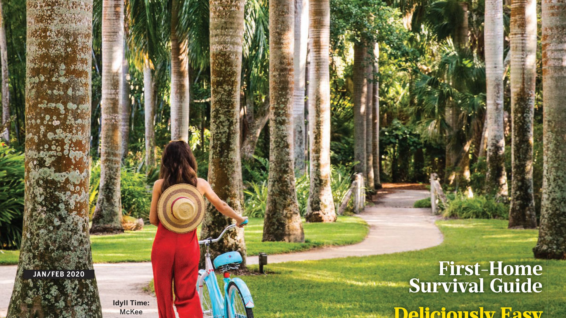 McKee, Vero Beach grace cover of Southern Living