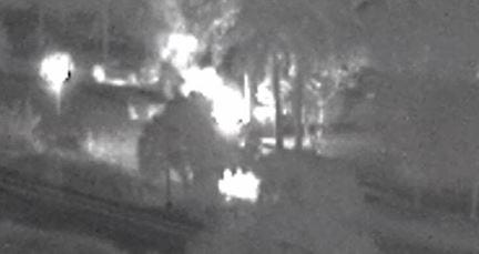 Woman flown to hospital after fiery crash in Martin County