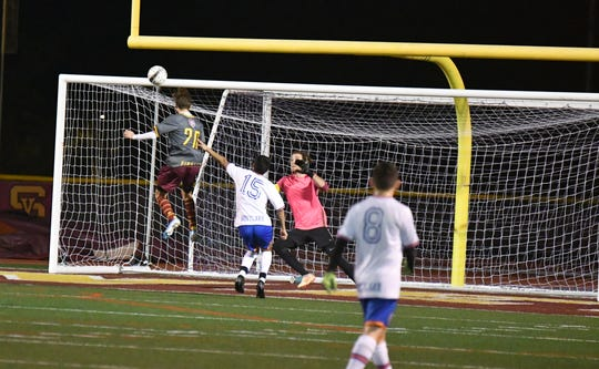 Senior Jake Means has scored 31 goals for Simi Valley this season.