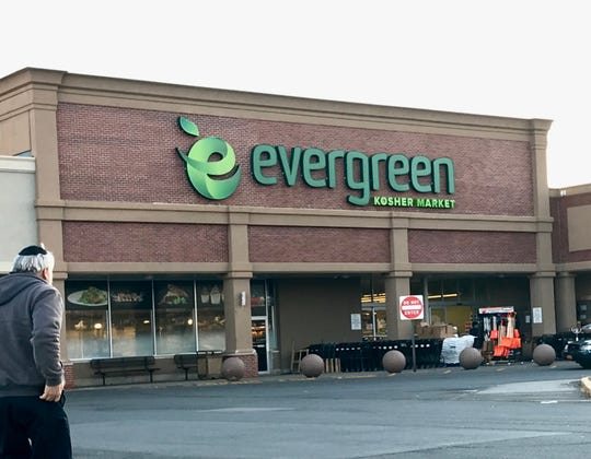 This is a view of Evergreen Kosher Supermarket on Route 59 in Monsey Jan. 16, 2020.