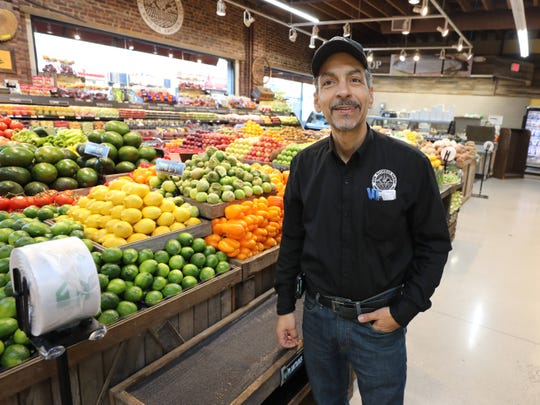 Jose Filipe, the owner, is pictured in the New Rochelle Farms supermarket on North Avenue and Lincoln Avenue in New Rochelle, Jan. 17, 2019.