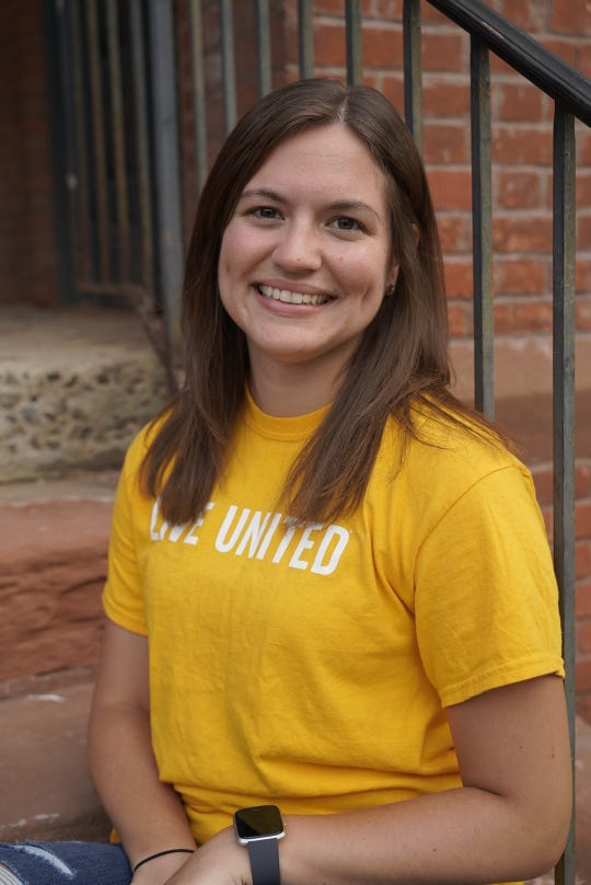 """Rebecca Reynold joined Young Leaders United – the young professionals volunteer group organized by the United Way of the Dutchess-Orange Region – almost four years ago. """"I have learned so much about all the services available to those in need,"""" she said."""