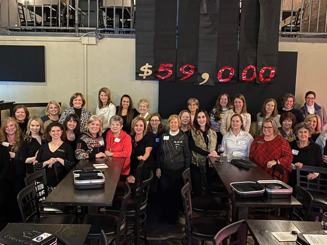 Impact 100 Wichita Falls, in its inaugural granting year, announced Thursday the group had raised $59,000 to be given to one nonprofit later this year after an application and selection process. The group, consisting of Wichita Falls area women who pledged at least $1,000 each, hopes to increase its membership so that in the future several grants of $100,000 can be given in a single year.