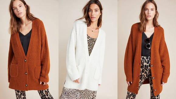 Who doesn't love a good oversized cardi?