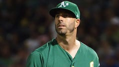 Mike Fiers pitched for the Astros from 2015-17.