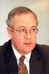 Ken Starr speaking with USA Today Editorial Board in Arlington, Va. Tuesday morning Oct. 20, 1999.