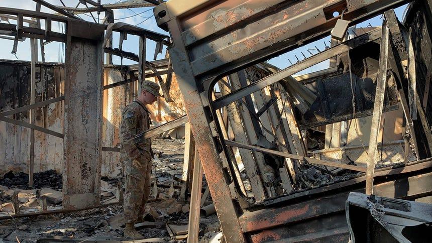 Iran missile strike hurt 34 soldiers