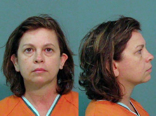This Aug. 31, 2018, booking photo provided by the York County Sheriff's Office, in South Carolina, shows Lana Sue Clayton.