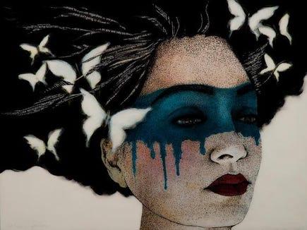 """Consciousness Revealed,"" a mixed media piece by Suquamish artist Katherine DuBose, won the Best of Kitsap award."