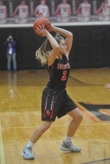 Kendra Ackerman's transition from JV to varsity was relatively seamless.