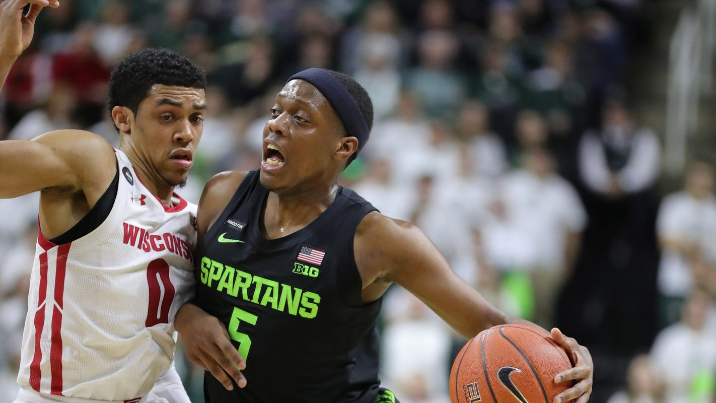 Game thread: Michigan State tops Wisconsin, 67-55