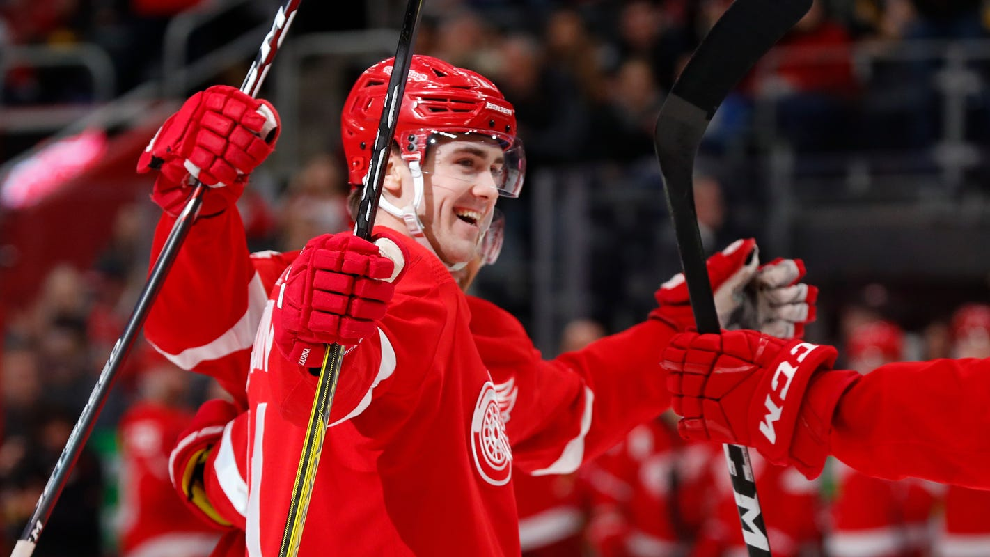 Red Wings' Filip Zadina keeps crushing it during NHL All-Star break. Here's how