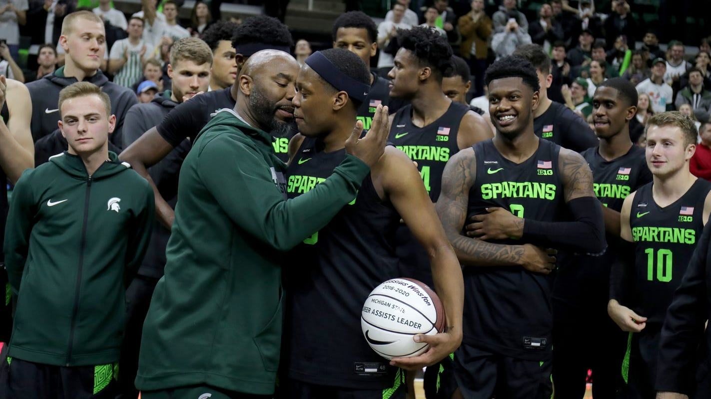 How Michigan State's Cassius Winston set Big Ten's assist record, surpassed Mateen Cleaves