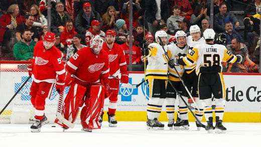 Jimmy Howard and Filip Zadina stand out in Red Wings' 2-1 OT loss to Penguins