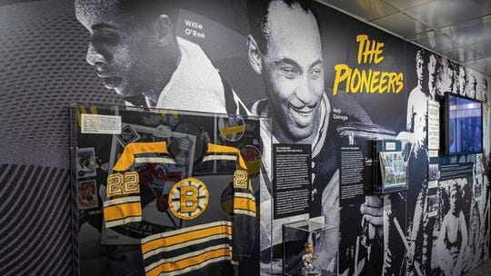 The NHL Black Hockey History Tour mobile museum presented by American Legacy is stopping by the Charles Wright Museum and Little Caesars Arena this weekend.