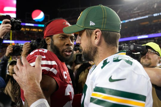 Two of the best at their jobs will meet once again in the NFC championship game when Green Bay quarterback Aaron Rodgers must decide how much to challenge San Francisco cornerback Richard Sherman.