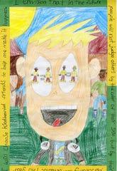 Third place: Samuel Raymond, Doty Elementary School, poster