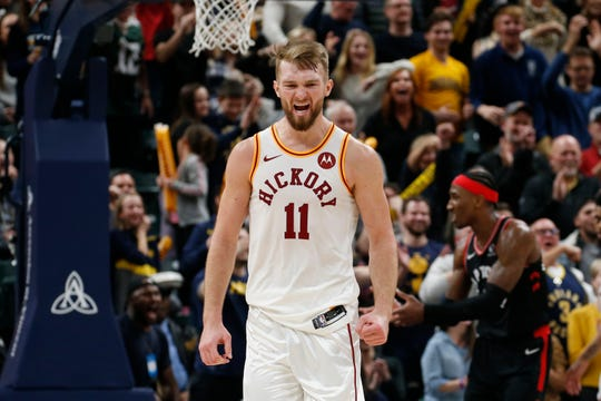 Domantas Sabonis will have to face top big men Nikola Jokic and Rudy Gobert on the Pacers' upcoming road trip.