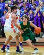 Will Hann played a key role as a sixth man and 3-point shooter for Howell.
