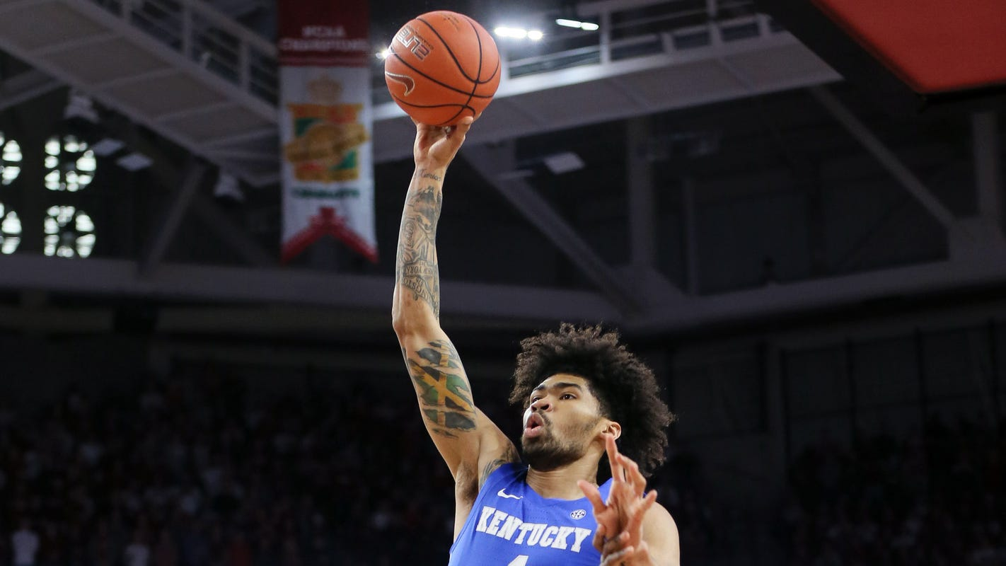 How to watch Kentucky basketball vs. Vanderbilt: Game time, streaming info and TV channel