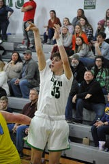 Clear Fork's Jared Scott had a breakout game with 16 points in a win over River Valley last week.