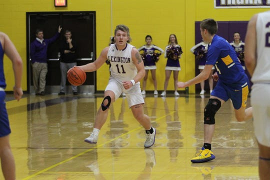 Lexington's Kaydan Berry and his magical mullet have the Minutemen at No. 4 in this week's power poll.