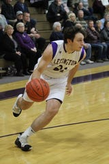 Lexington's Dylan Spears led the Minutemen with 28 points in an overtime loss to Wooster on Friday night.