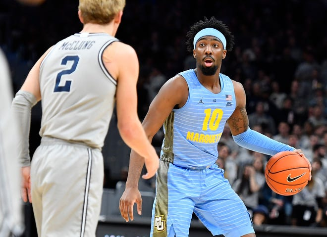 Symir Torrence is leaving the Marquette men's basketball team after two seasons.