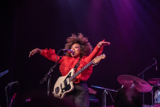 Seratones opens for Black Pumas at the Pabst Theater in Milwaukee on Friday, Jan. 17, 2020.