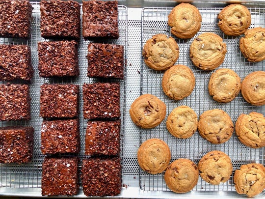Brownies and cookies are available at Vesta.