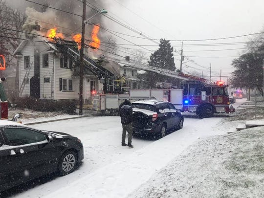 Two people were killed and another suffered injuries at a residential house fire in Nutley on Saturday.