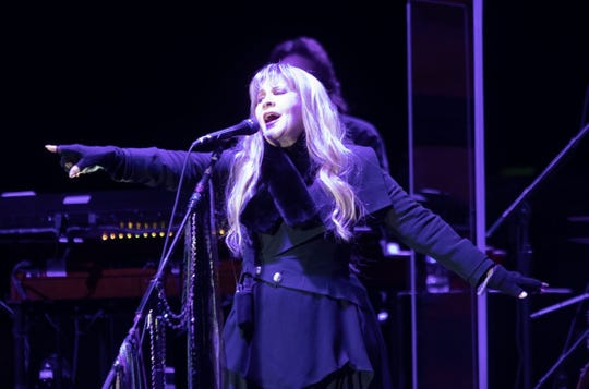 Stevie Nicks performs at the American Express Concert Series at PGA West on January 17, 2020.