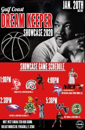 WFHS hosts the MLK Gulf Coast Dream Keeper Showcase on Monday.