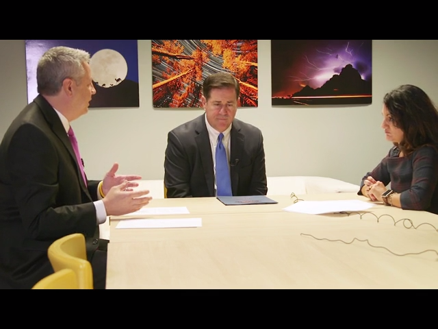 Gov. Doug Ducey talks about Arizona water policies and plans