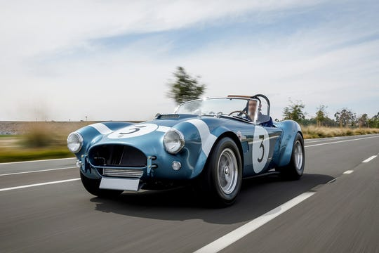 This Shelby Cobra FIA is a historically accurate Shelby roadster based on the cars piloted by world-champion Shelby driver Bob Bondurant from the 1964 and 1965 race seasons.
