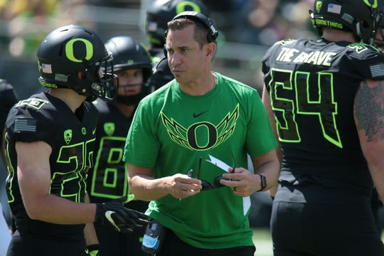 Former Oregon offensive coordinator Marcus Arroyo will be UNLV's first head coach of the 2020s.