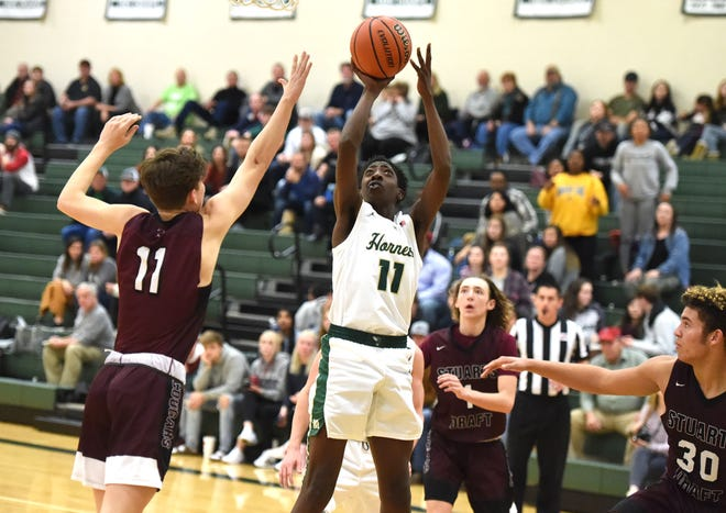 Zakar Woodson, who played at both Stuarts Draft and Wilson Memorial, will be playing basketball at Dabney S. Lancaster Community College next year.