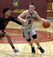 Iona Prep losses to St. Raymond's 76-56 during basketball game at Ion Prep in New Rochelle Jan. 17, 2020.