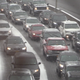 The snow caused a major pileup on the Bronx River Parkway near the Bronx/Yonkers border, causing a huge traffic jam on the Bronx River Parkway near Exit 9 (Gun Hill Road) on January 18, 2020.