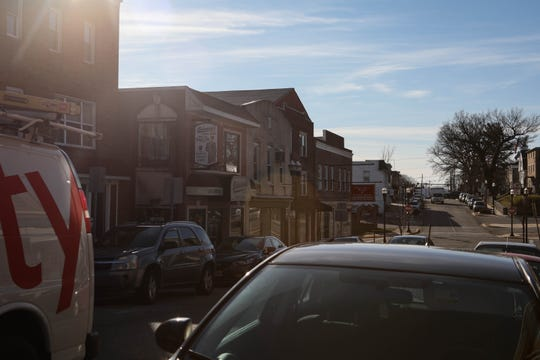 """Downtown Elkton sits quiet on Friday afternoon. The town is the home of Brian Lemley Jr., who federal agents say is part of a """"violent"""" white supremacist group. He was arrested Thursday."""