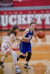 Wynford's Rylee Alspach earned first team honors as the lone senior.