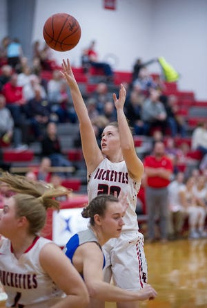 The Buckettes are the only team in the area still battling for a league title.